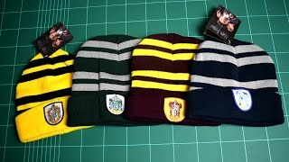 Harry Potter Hats 4pcs Houses Gryffindor Hufflepuff Ravenclaw Slytherin Review