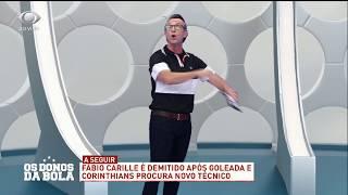 Neto critica demissão de Carille e diretoria do Corinthians