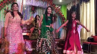 Ladies Sangeet Dance Performance /  Phoolon ka taron ka sub ka khna hai song / Choreographer : Bride