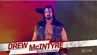 Drew Mcintyre Entrance Raw April 23, 2018