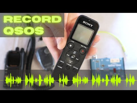 Quick Tips - How to Record QSO Audio