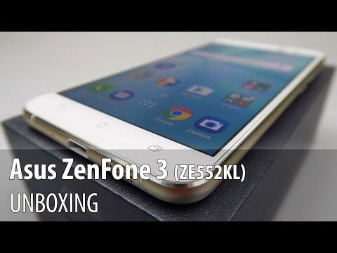 Asus ZenFone 3 (ZE552KL) Unboxing in Limba Romana
