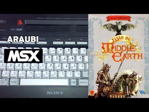 War in Middle Earth (Animagic, 1989) MSX [369] Walkthrough Comentado