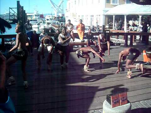 V&A Waterfront African Dance 1 – David and Colleen Hungerford's Honeymoon in South Africa