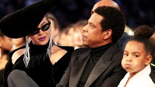 Blue Ivy Tells Beyonce & Jay-Z To Stop Clapping During Camila's Grammys Speech
