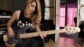 Anna Sentina - Somebody to Love - Queen (Bass Cover) width=