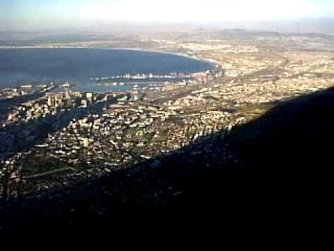 view frm the top of Table Mountain