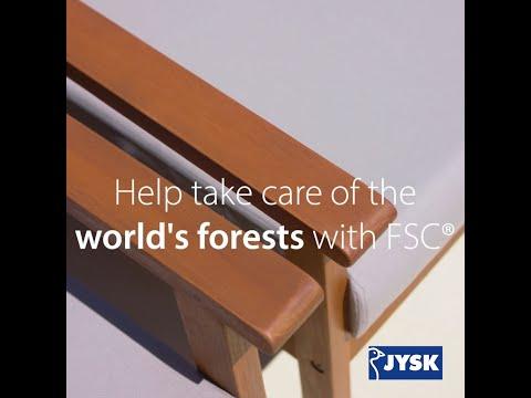 Trend i 2020: FSC®-certificerede havemøbler i træ | JYSK