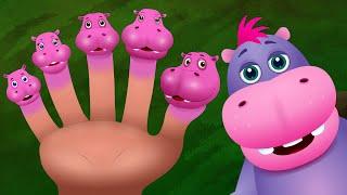La Familia Hipopótamo | Familia de Dedos Animales Canciones Infantiles en Español | ChuChu TV