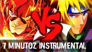 Instrumental - Flash VS. Minato   Duelo de Titãs (7 Minutoz)