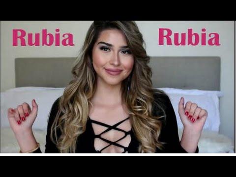 Cambio de Look: Estoy RUBIA!