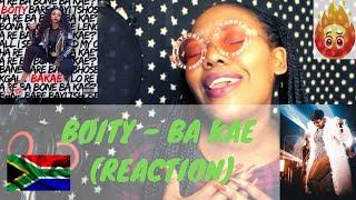 Boity - Ba Kae (Reaction)   South African Female Rapper