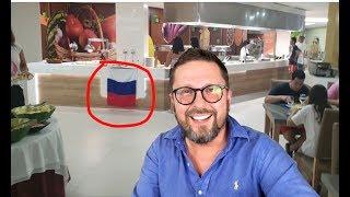 Унижение российским флагом