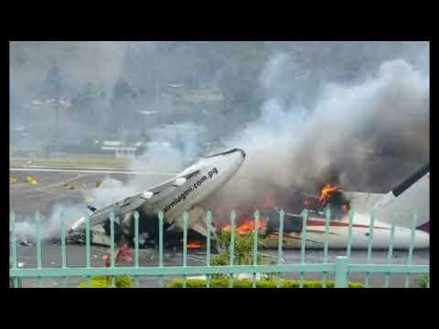 State of Emergency Declared In Papua New Guinea, Rioters Torch Plane