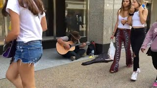 HOMELESS MAN SURPRISES People & Stuns Crowd (behind the camera)