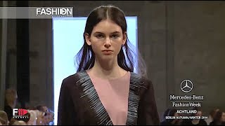 ACHTLAND Fall 2014 Berlin - Fashion Channel