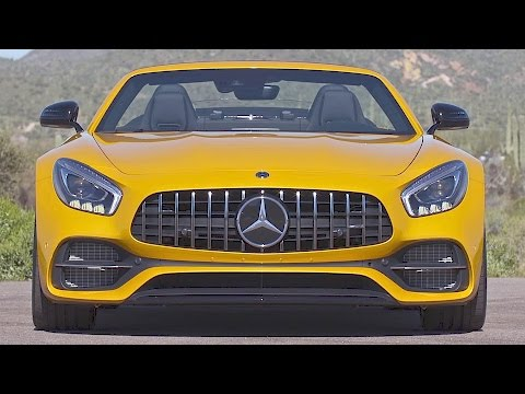 "Mercedes-AMG GT C Roadster (2017) Jaguar F-Type Killer"" [YOUCAR]"