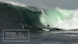 Benny Richardson at Shipstern Bluff - 2015 Billabong Ride of the Year Entry - XXL Big Wave Awards