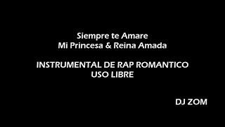 siempre te amare 2// instrumental de rap romantico