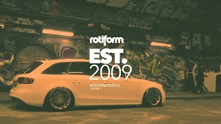 The Intro | Rotiform Wheel Feature.