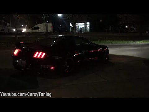 Ford Mustang Shelby GT350 and GT350R - Revs and Acceleration