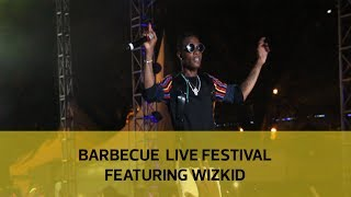 Barbecue live festival featuring Wizkid