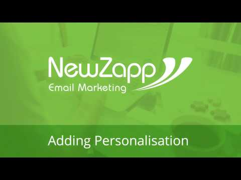 Adding Personalisation To Your Email Campaigns