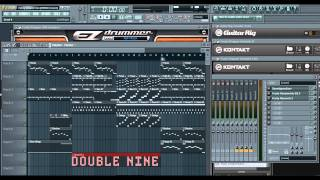 Hollywood Undead - Everywhere I Go (FL Studio Demo Cover by Double Nine + FLP Download)