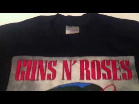 Vintage T-Shirt DRY ROT Demonstration Guns N Roses Coma