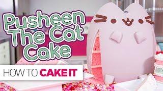 PUSHEEN Cat Cake!! | How To Cake It width=