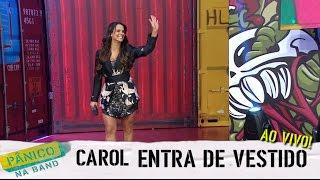 AO VIVO: CAROL DIAS ENTRA DE VESTIDO E SENTA NA BANCADA
