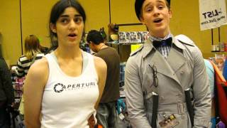 Still Alive by Jonathan Coulton Performed A Cappella in the Anime Los Angeles 2013 Dealers Hall