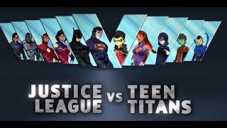 Justice League vs. Teen Titans - AUDIO LATINO (Descarga-Download) HD