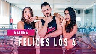 Felices Los 4 - Maluma - Coreografia: Mete Dança