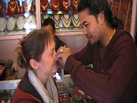 Nepal – Kathmandu – The Nose Piercing – seatofourpants.com.MOD