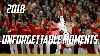 MLB | 2018 - Unforgettable Moments