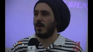 Rapper J3 na III Bienal Rubem Braga
