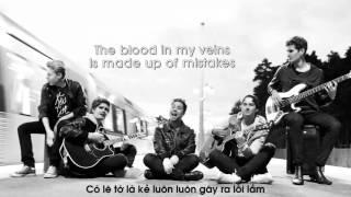 [Lyrics + Vietsub] Jet Black Heart - 5 Seconds Of Summer (Amasic Cover)