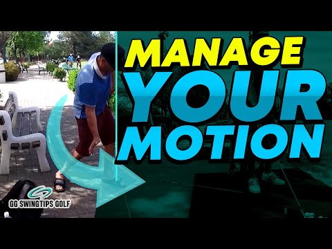 Leg Action in Golf Swings : Manage Your Motion