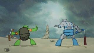 Michelangelo (TMNT) vs Panthro (Thundercats)