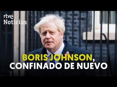 JOHNSON en CUARENTENA tras estar, SIN MASCARILLA, con un diputado positivo en COVID | RTVE