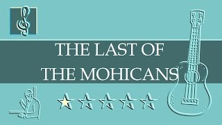 Ukulele TAB - Promentory - The Last of the Mohicans Theme (Sheet Music)