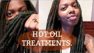 My Easy Hot Oil Treatment Methods | Natural Hair & Locs
