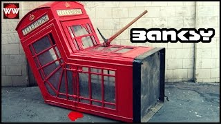 Banksy's 10 Most Amazing Works Of Art!