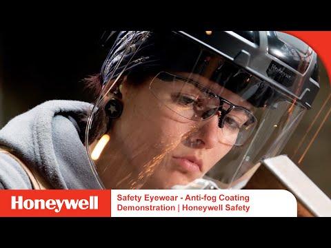 Safety Eyewear - Anti-fog Coating Demonstration | Honeywell Safety