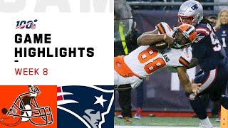 Browns vs. Patriots Week 8 Highlights   NFL 2019