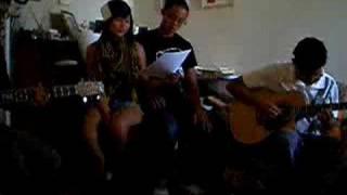 Kiss the Girl cover - Mye Reggie Franklin Andrew