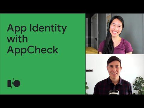 Verifying app identity with App Check