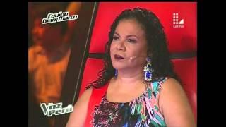 Luis Alcázar- Sentir- Marcos Llunas- Semifinal La voz Peru