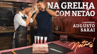 Rack de Prime Rib! – Na Grelha com Netão! Convidado AUGUSTO SAKAI do UFC | Netão! Bom Beef #58